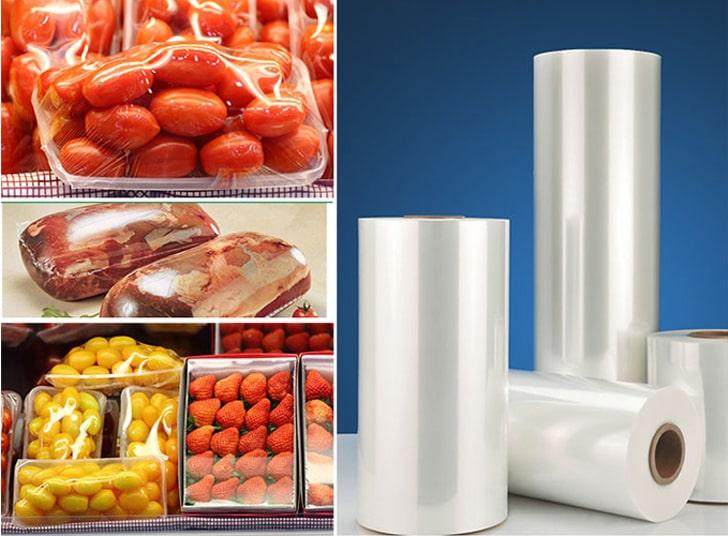 شرینک مستقیم مواد غذایی با پلاستیک حرارتی